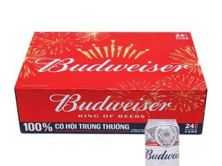 Mã giảm giá 15k khi mua 1 thùng Budweiser 24 lon 330ml giá 405k