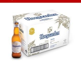 Tặng 6 lon Hoegaarden khi mua mỗi thùng Leffe Vàng 330ml thùng 24 chai
