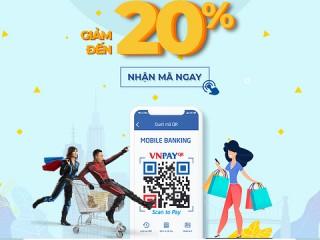 VnPay tặng QR sành điệu chị em tha hồ mua săm - giảm tới 20%