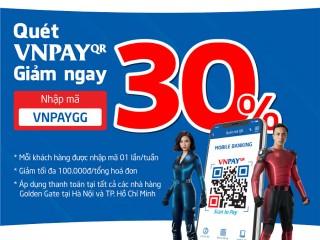 Nhúng lẩu thả ga - Hutong ưu đãi 30% với VNPay