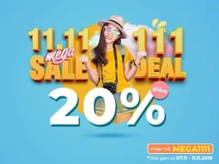 Đại Tiệc Deal Siêu Khủng Cùng MYTOUR MEGASALE 11.11
