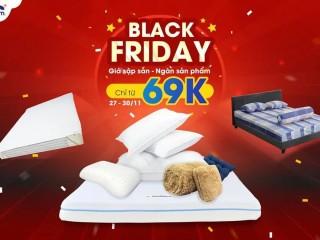 Vua Nệm giảm sốc 60% chỉ từ 69K Black Friday