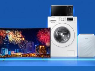 Coupon giảm 3 triệu áp dụng khi mua các sản phẩm điện máy từ Samsung