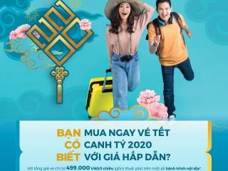 [Vietnam Airlines] Bay về nhà ăn Tết chỉ từ 499k/chiều (đã bao gồm thuế,phí)