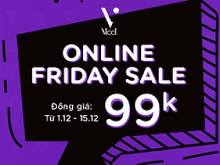 [Yes24] Online Friday Sale - Vicci ưu đãi đồng giá 99k