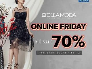 [Yes24 x Bella Moda] Giảm giá lên đến 70% đón Online Friday