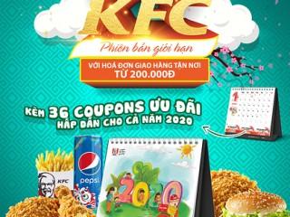 [KFC] Măm măm gà rán - Nhận ngay bộ lịch siêu cool kèm 36 coupon ưu đãi