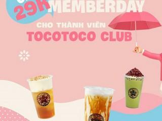 [Tocotoco] Ưu đãi 29K cho khách hàng thành viên