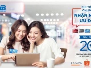 Mã giảm giá Lazada 20% cho đơn hàng MB Bank từ 500k Hết 22/9/2019
