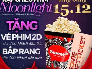 Khai trương Lottecinema Moonlight Thủ Đức - Tặng vé xem phim & bỏng nước