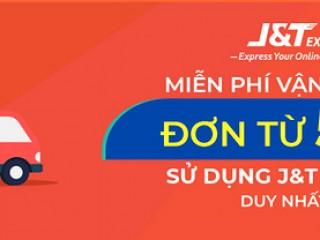 [Shopee] Miễn phí vận chuyển đơn từ 50k khi sử dụng J&T Express