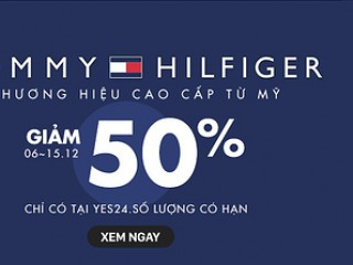 [Yes24] Tommy Hilfiger thời trang cao cấp giảm đến 50%