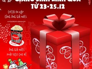 Giáng sinh rinh quà cùng Lotte Cinema 23-25/12