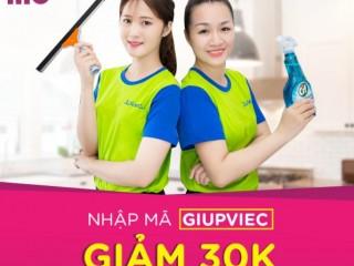 Momo x Jupviec: Giảm 30K thanh toán dịch vụ giúp việc bằng ví Momo