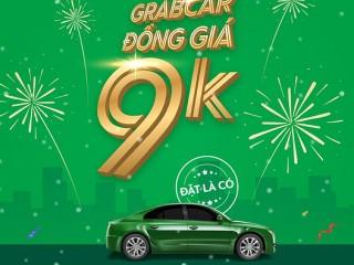 Mã GRABCAR Đồng giá 9k tại quận Hoàn Kiếm (Hà Nội) và Quận 1 (TP.HCM)