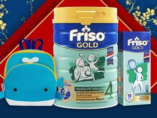 Mã giảm giá 6% tại shopee dành cho đơn hàng sữa Friso chính hãng cho bé