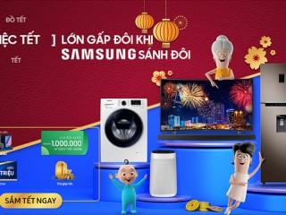 Tặng gói ưu đãi Grab đến 1 triệu đồng khi mua Samsung