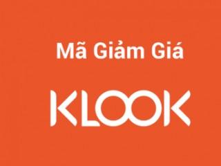 Mã giảm giá 5%  tối đa 200k dịch vụ Klook
