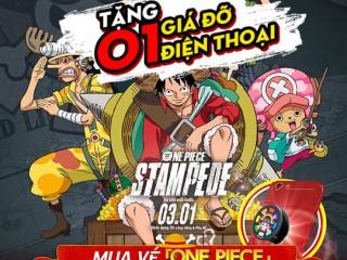 [CGV] Tặng giá đỡ điện thoại khi xem One Piece Stampede