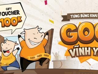 Gogi House Vĩnh Yên mừng khai trương tặng Voucher 100K