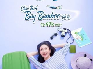 Hàng không Bamboo Airways khuyến mãi giá vé chỉ từ 49k