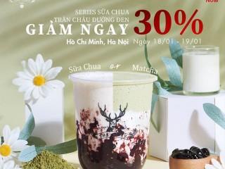 [The Alley x Now] Giảm 30% cho Series sữa chua trân châu đường đen