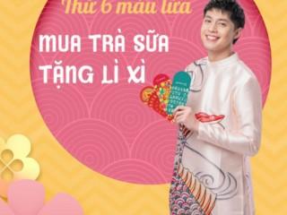 TocoToco khuyến mãi mua trà sữa nhận ngay lì xì Phát Lộc, Voucher 25k