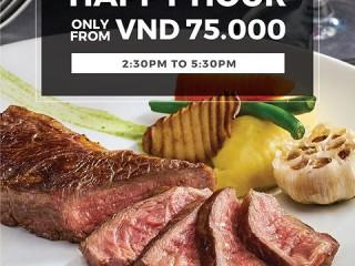 Le Monde Steak ưu đãi giờ vàng chỉ từ 75K