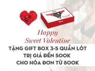 iBasic tặng Gift box dịp Valentine với hóa đơn từ 800K