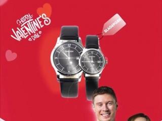 [FPT Shop] Giảm giá 50% còn 1.402.000đ/cặp đồng hồ đôi nhân dịp Valentine