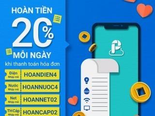 Tháng 2 giám tới 20% hóa đơn điện, nước, Internet cùng Airpay