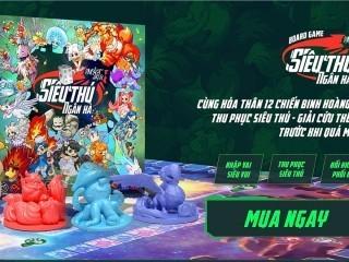 """[Tiki] Ra mắt boardgame """" Siêu thú ngân hà"""" tặng quà hấp dẫn"""