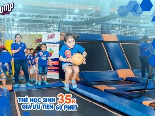 Khuyến mãi đặc biệt cho sinh viên - chỉ 35k nhảy thả ga tại Jump Arena
