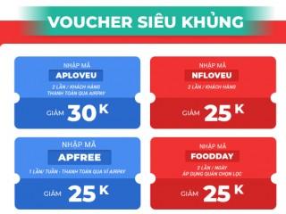 Mã giảm giá 60k dịch vụ  now cho khách hàng lần đầu đặt hàng qua shopee now