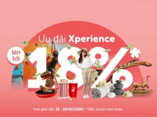 Traveloka giảm đến 220K cho vé Xperience