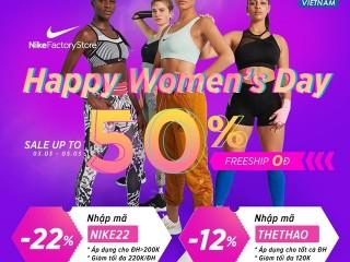 Mã giảm giá Yes24 khuyến mãi 22% áp dụng sản phẩm Nike