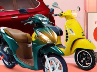 Mã giảm giá 3 triệu đồng khi mua xe máy tại sendo