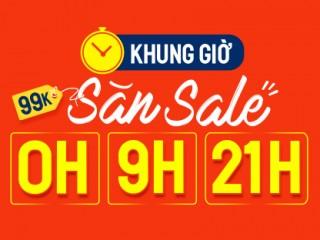 Mã giảm giá flash sale shopee vào lúc 0h ngày 22/3
