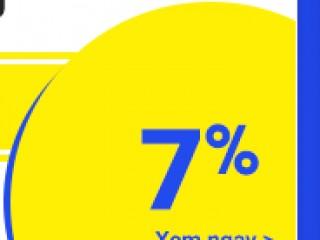 Mã giảm giá vnxpress 7% tối đa 100k ngành hàng nội thất