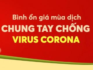 Mã giảm giá 80k chương trình bình ổn giá chống dịch corona